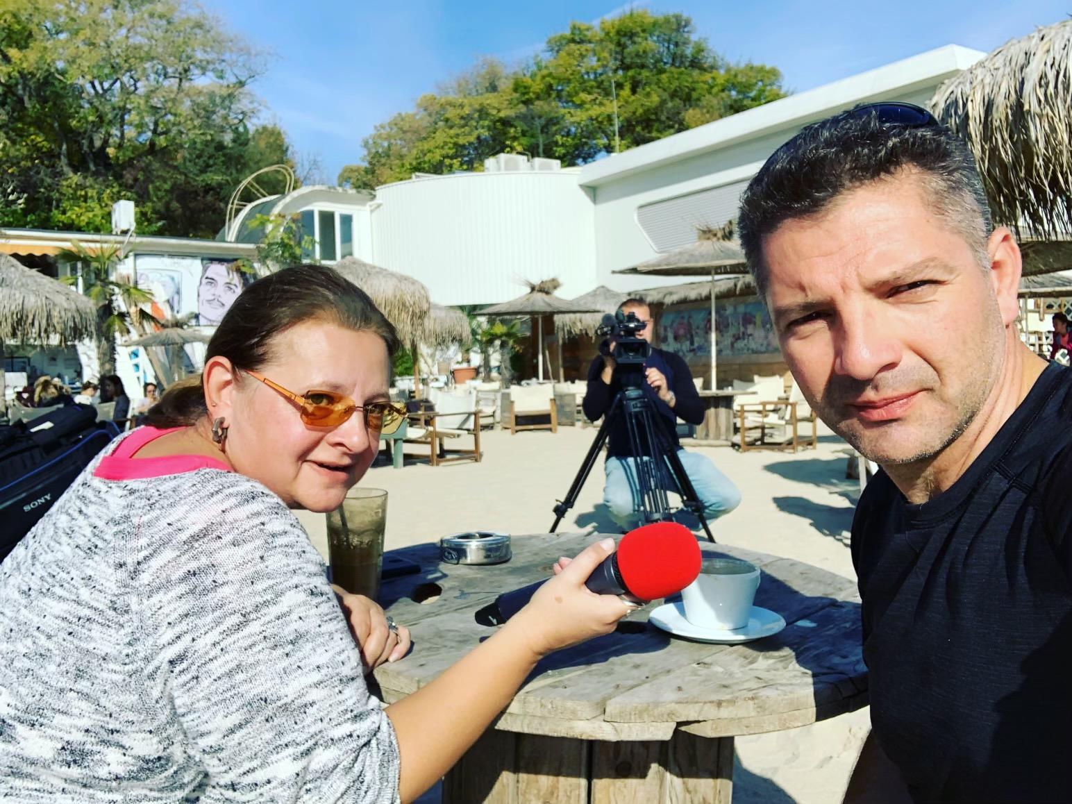 Интервю за БНТ
